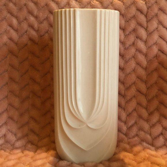 Hutschenreuther Other - Hutschenreuther White Porcelain Vase Vintage